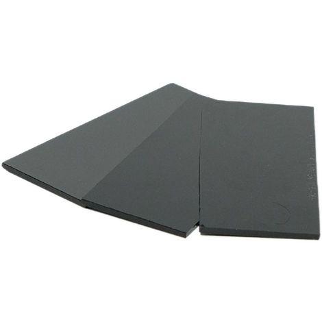 Verre noir de protection soudure-verre 50x105 DIN 11- 3mm masque et cagoule de soudure - 2 conditionnements au choix