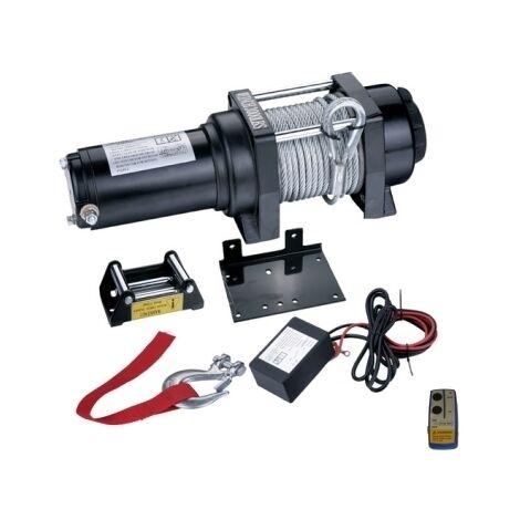 """main image of """"Verricello/Argano/Paranco elettrico 12V 3000 lbs con telecomando wireless - Mod. B"""""""