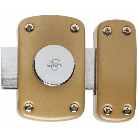 c32e4bf0f90 Verrou à bouton intérieur sans cylindre série Cyclop Vachette - Verni