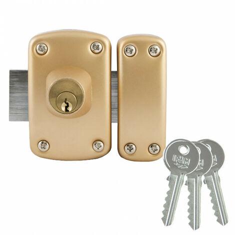 Verrou à double cylindre D5 (3 clés) IFAM