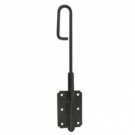 Verrou baïonnette acier noir (Ø14x300) - Dimensions (mm) : Ø14x300
