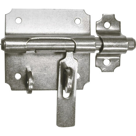 Verrou de box à porte-cadenas - Diamètre : 14 mm - ITAR