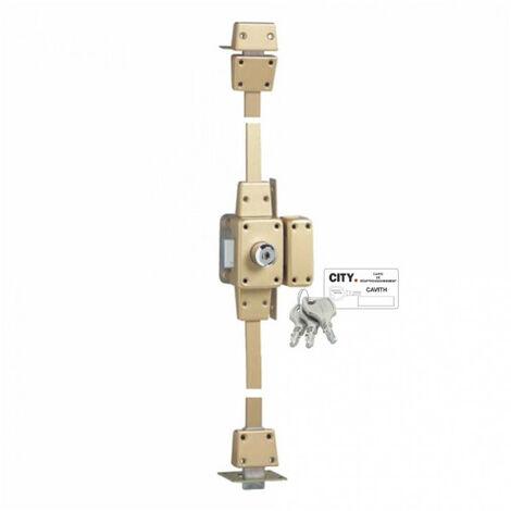 """main image of """"Verrou de haute sécurité à 2 entrées - 3 points Cavith Evolution 1413 (3 clés) Iséo - plusieurs modèles disponibles"""""""