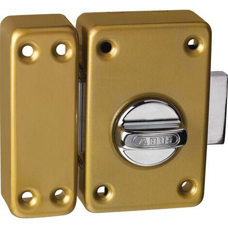 5bde0eb7edd Verrou de sécurité à bouton targette sans Cylindre porte d entree ABUS  CLKBBC