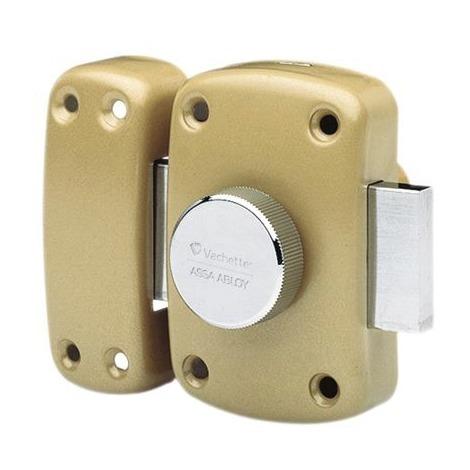 e25ff905d3c Verrou de sureté bouton et cylindre s entrouvrant série Cyclop Vachette - 6  clés - Longueur 45 mm ...
