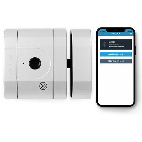 Verrou int-LOCK Bluetooth avec 2 télécommandes + APP pour Smartphone, finition BlancMat - AYR