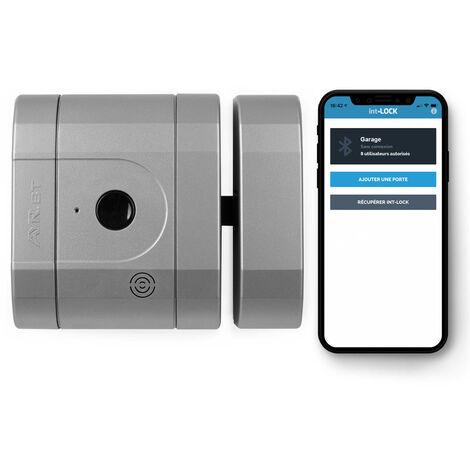 Verrou int-LOCK Bluetooth avec 2 télécommandes + APP pour Smartphone, finition Chrome Mat - AYR
