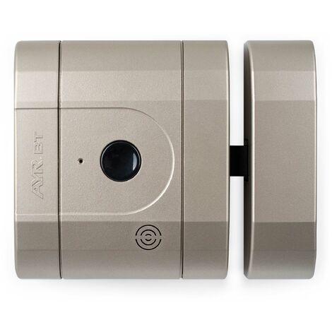 Verrou int-LOCK Bluetooth avec 2 télécommandes + APP pour Smartphone, finition Nickel Mat - AYR