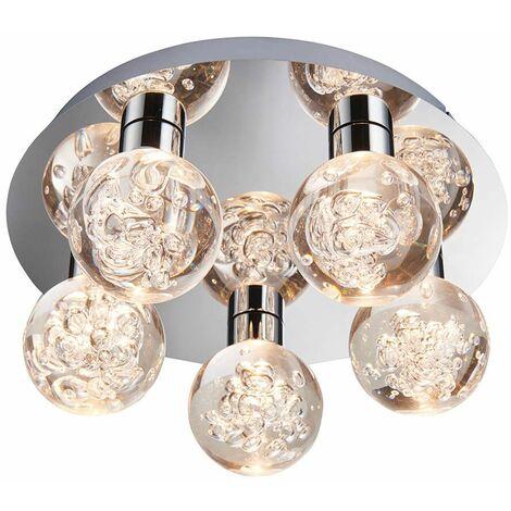 Versa bathroom ceiling light Steel Chrome plate