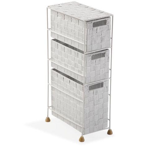 Versa Mannheim Mueble para el Baño, 57x28x15,5cm - Blanco