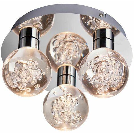 """main image of """"Versa steel bathroom ceiling light"""""""