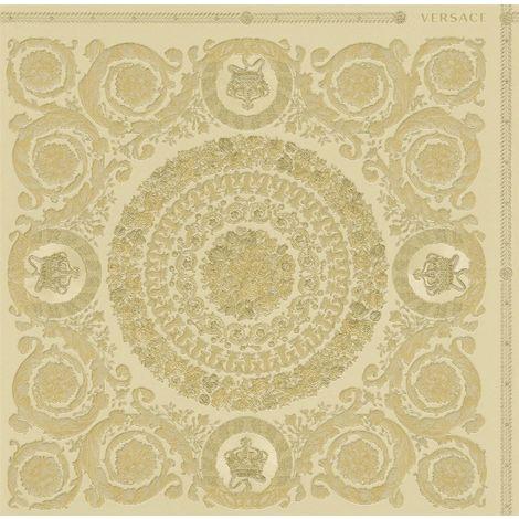Versace Heritage Gold Wallpaper Baroque Ornament Metallic Paste The Wall Vinyl