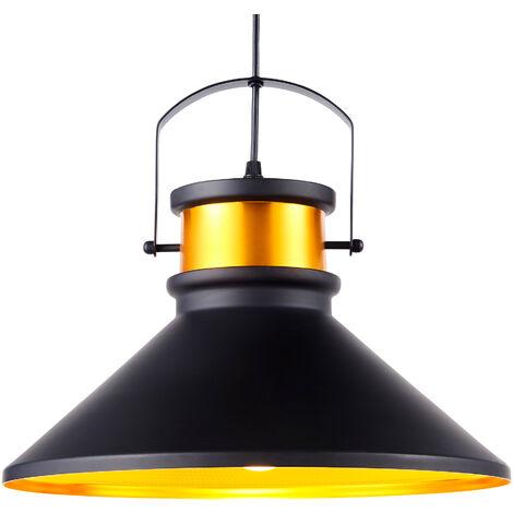 Versanora Pendant LED Light Black Modern Hanging Ceiling Lighting VN-L00036-UK