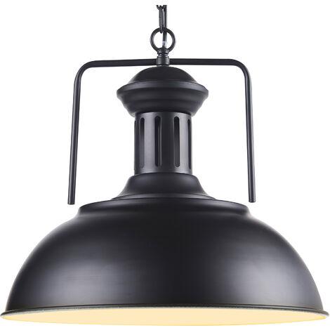 Versanora Pendant Light Black Shade Modern Hanging Ceiling Lighting VN-L00035-UK