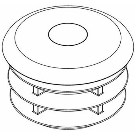 "Verschlusskappe aus Kunststoff, 2"" (60,3 mm)"
