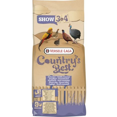 Versele Laga Countrys Best Show 3 Pellets (5kg) (May Vary)