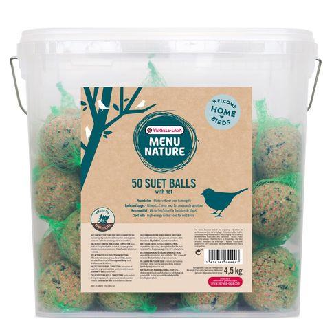 Versele Laga Menu Nature Suet Balls (Tub Of 50)