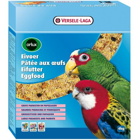 Versele Laga Orlux Dry Eggfood for Big Parakeets & Parrots (800g) (May Vary)