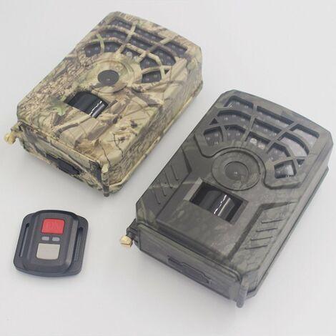 Version Wifi Vision Nocturne Infrarouge Camera De Chasse Exterieure Etanche + Telecommande, Vert Armee