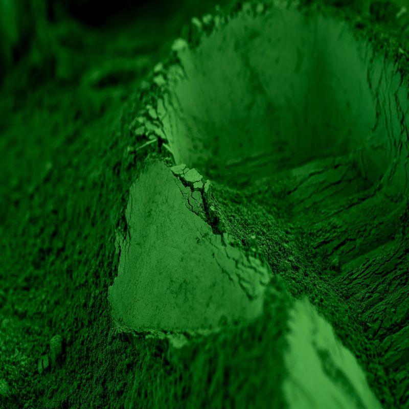Vert Malachite Pigment exclusif pour b/éton et chaux 1 Kg