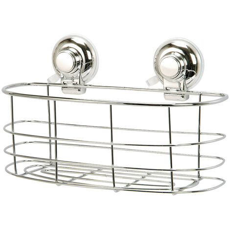 Vertex Wall Mounted Suction Oval Basket