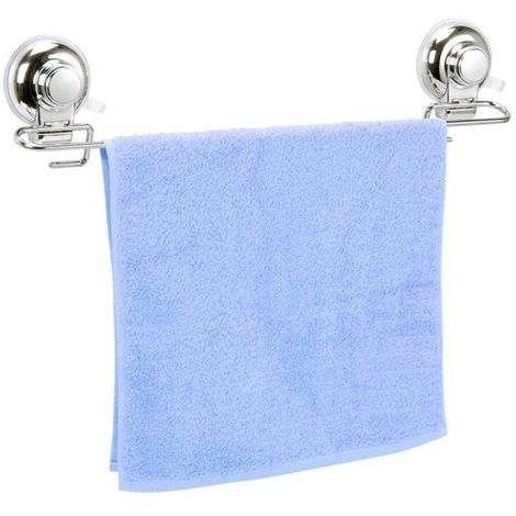 Vertex Wall Mounted Suction Towel Rail