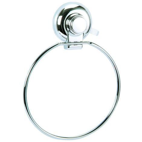 Vertex Wall Mounted Suction Towel Ring