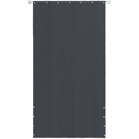 Vertical Awning Oxford Fabric 140x240 cm Grey