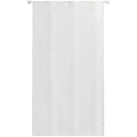 Vertical Awning Oxford Fabric 140x240 cm White