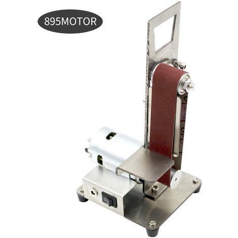 Vertical Ponceuse Mini Broyage Sander Mini Ponceuse Grinder Sable-Bande Machine Petit Bricolage Polissage Et Polisseuse, 895 Motor