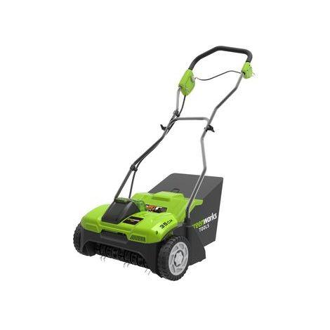 Vertikutierer-Lüfter Greenworks G40DT35
