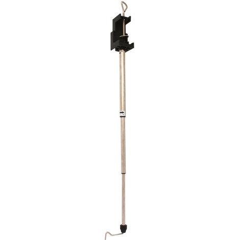 VERTO 51G002 Soporte telescópico para amoladora recta