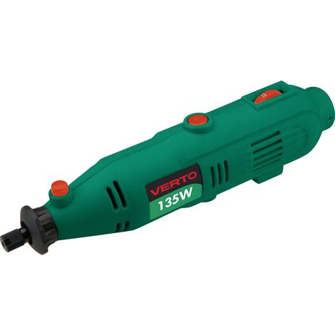 VERTO 51G014 Mini pulidora 135W, 230V, 8000-30000 rpm