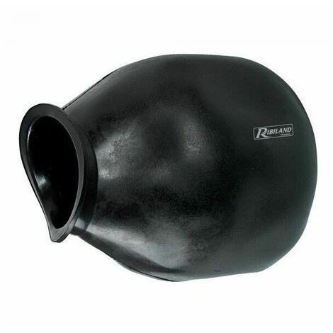Vessie pour surpresseur en butyle et EPDM pour 50/80L Ø 100mm 1 trou - Ribimex