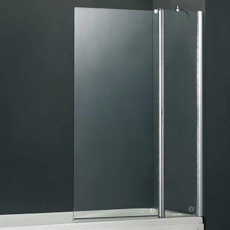 Vessini E Series Two Part Bath Screen 940 x 1410mm (VEGE-70-1120)