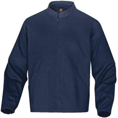 Veste 100% coton PALIGA coloris bleu foncé taille XL