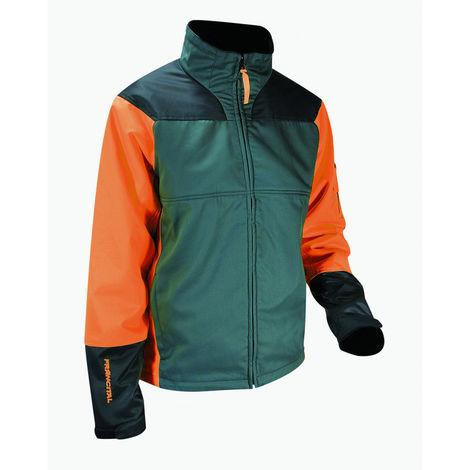 Veste anticoupure FRANCITAL Nebias Classe 1 - Taille S - Orange/vert - FI127-9550 S
