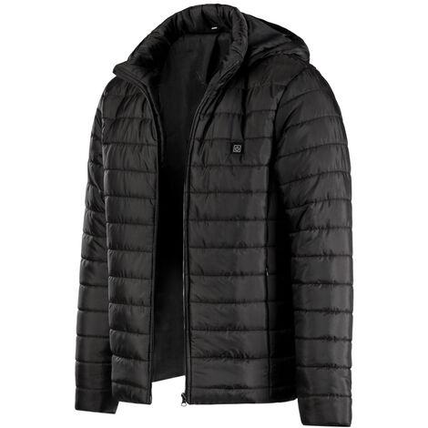 Veste Chauffante En Coton Intelligente, Veste Chauffante Exterieure De Chargement Usb, Taille S