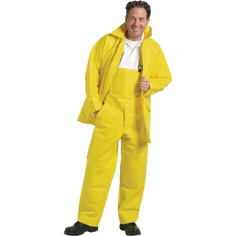 Veste de chantier d'hiver Taille M 50/52 jaune 100 % polyuréthane