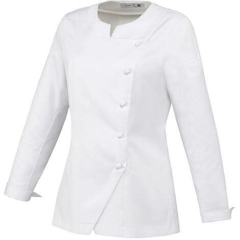 Veste de cuisine femme manches longues Robur Valloire 100% coton