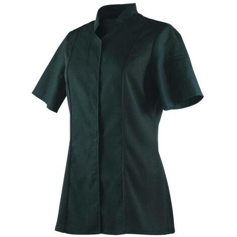 Veste de cuisine femme respirante col éponge manches courtes Robur Abella