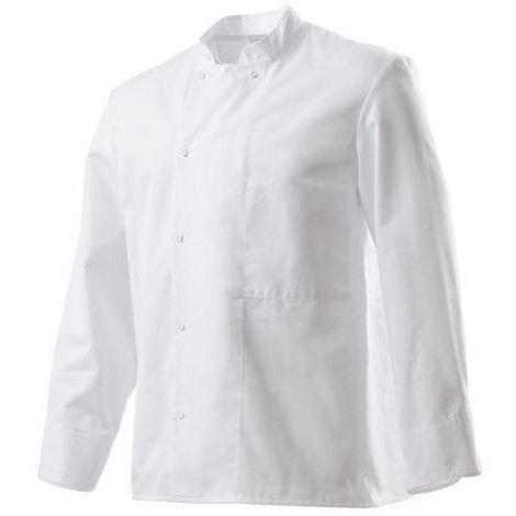 """main image of """"Veste de cuisine blanche manches longues Robur"""""""