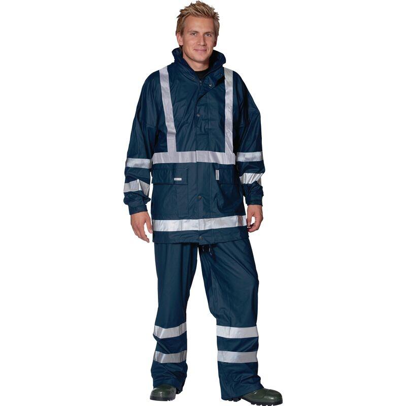 Veste de pluie Comfort Stretch Taille XXXL marine 100 % PES