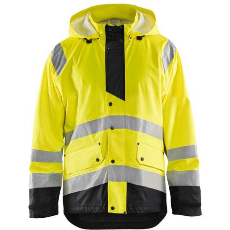 Veste de pluie haute-visibilité niveau 3 - 3399 Jaune fluo/Noir 43272005 - Blaklader