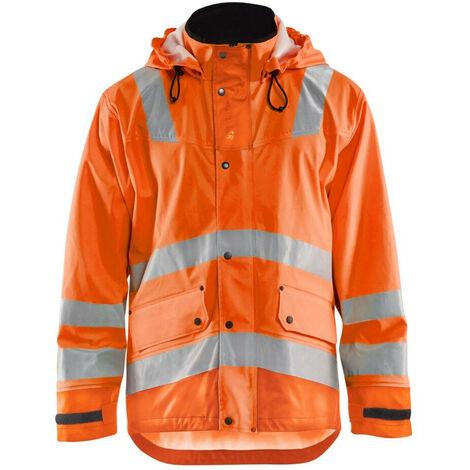 Veste de pluie haute-visibilité niveau 3 - 5300 Orange fluo 43272005 - Blaklader