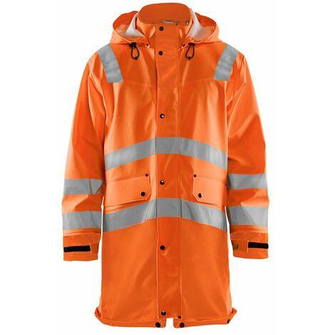 Veste de pluie haute-visibilité niveau 3 - 5300 Orange fluo - Blaklader
