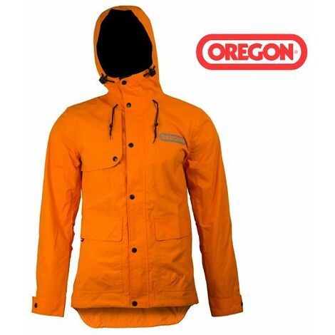 Veste de pluie Oregon orange
