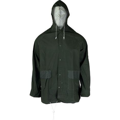 Veste de pluie PVC Lari Cap Vert - Vert - Taille XL