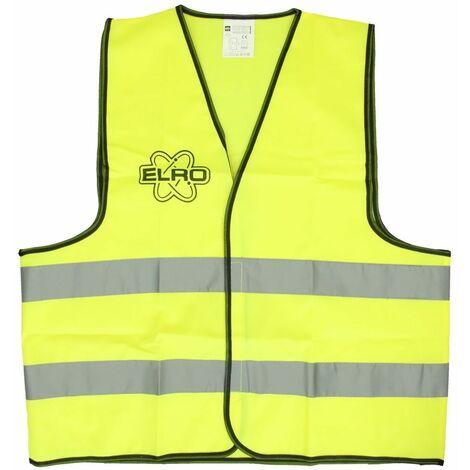 Veste de sécurité jaune néon