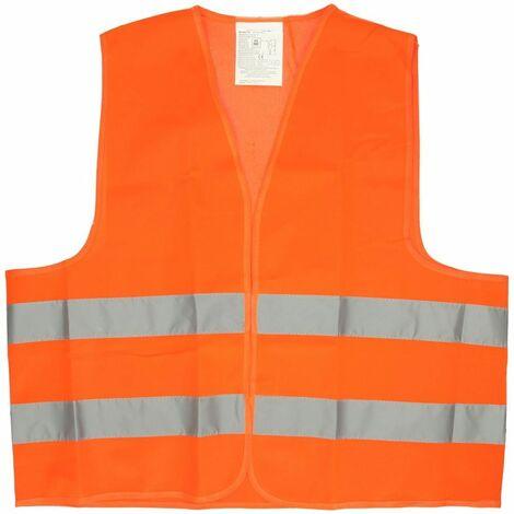 Veste de sécurité orange néon